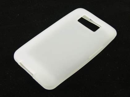 HTC Touch HD2 Silicone Case - White