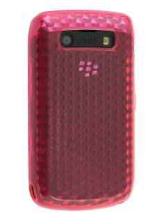 Diamond Gel Case for BlackBerry Bold 9700/9780 - Pink Soft Cover