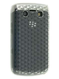 BlackBerry Bold 9700/9780 Diamond Gel Case - Clear Soft Cover