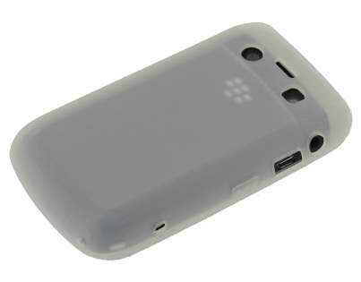 Silicone Case for BlackBerry Bold 9700/9780 - White