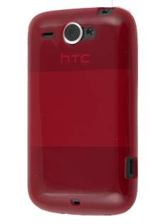 TPU Gel Case for HTC Wildfire G8 - FireBrick  Soft Cover