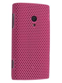 In-Case for Xperia X10 - Pink Hard Case
