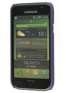 Samsung I9000 Galaxy S Slim Mesh Case - Purple
