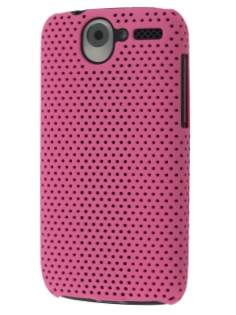 Mesh Case for HTC Desire A8183 - Pink Hard Case
