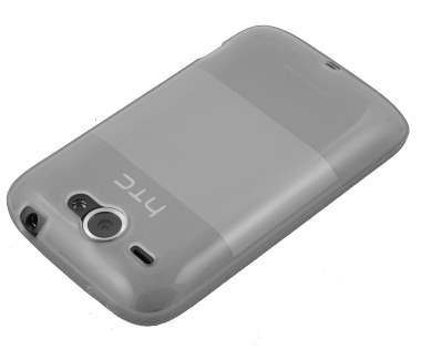 HTC Wildfire G8 TPU Gel Case - Frosted Clear