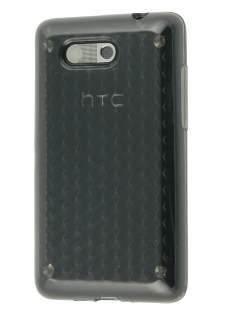 Diamond Gel Case for HTC Aria - Grey Soft Cover