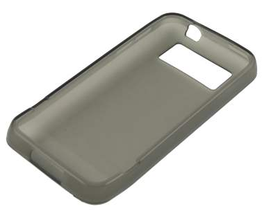 HTC Legend TPU Gel Case - Frosted Grey