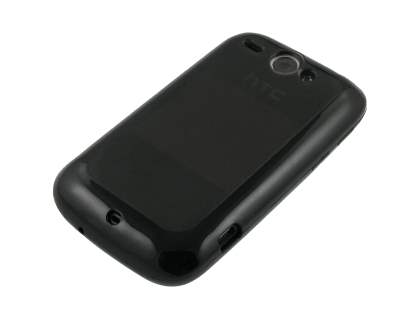 Dual-Design Case for HTC Wildfire G8 - Black/Grey