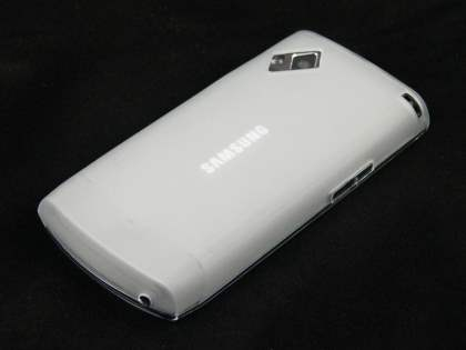 TPU Gel Case for Samsung S8500 - Frosted Clear
