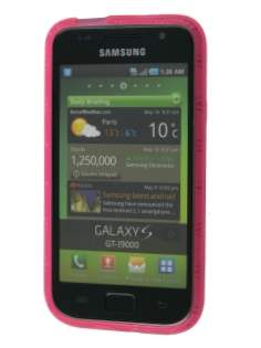 TPU Gel Case for Samsung I9000 Galaxy S - Pink