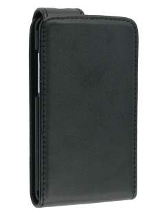 Synthetic Leather Flip Case for HTC Aria - Black