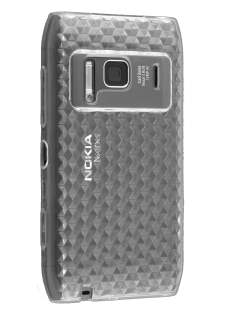 Nokia N8 TPU Gel Case - Clear Soft Cover