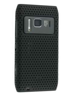 Nokia N8 Mesh Back in-Case - Black Hard Case