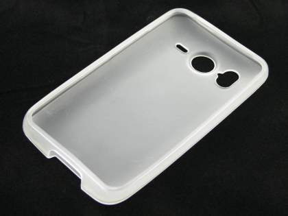 HTC Desire HD TPU Gel Case - Frosted Clear
