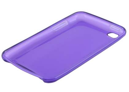 iPod Touch 4 Soft Glass Case - Light Purple