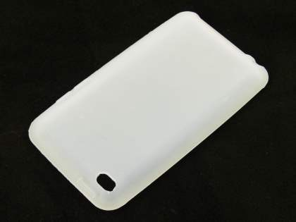 iPod Touch 4 Silicone Case - Frosted Clear