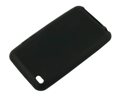 iPod Touch 4 Silicone Case - Black