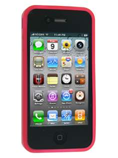 iPhone 4G Gel Case - Red
