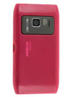 Nokia N8 TPU Gel Case - Hot Pink Soft Cover