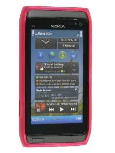 Nokia N8 TPU Gel Case - Hot Pink