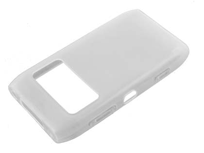Nokia N8 TPU Gel Case - Frosted Clear