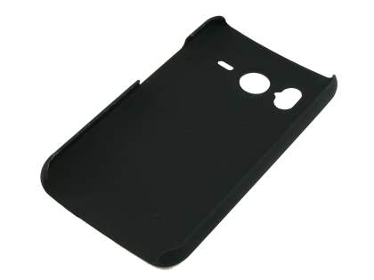 HTC Desire HD UltraTough Rubberised Slim Case - Black