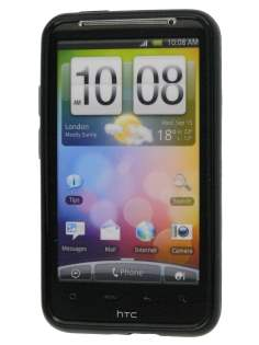 HTC Desire HD Silicone Case - Black