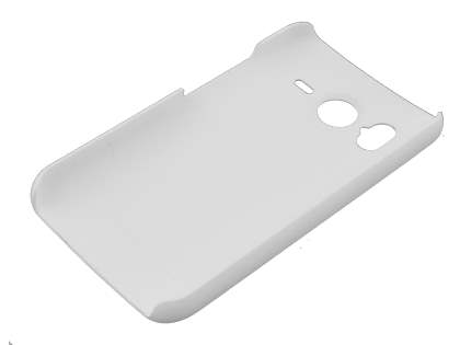 UltraTough Rubberised Slim Case for HTC Desire HD - White
