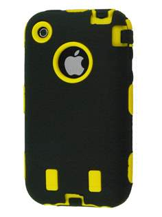 iPhone 3G/S Defender Case - Yellow/Black