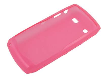 BlackBerry Pearl 9100 3G TPU Case - Frosted Pink