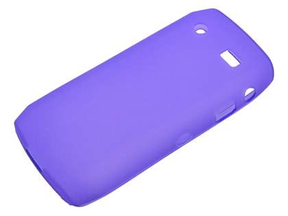 BlackBerry Pearl 9100 3G TPU Case - Frosted Purple