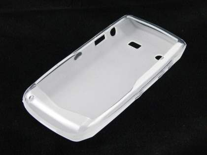BlackBerry Pearl 9100 3G TPU Case - Frosted Clear