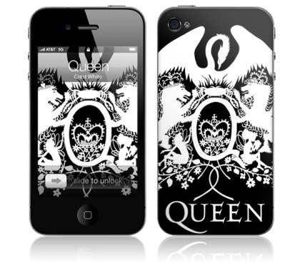 MusicSkin iPhone Skin for iPhone 4 - Music Skin