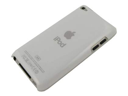 iPod Touch 4 Glossy Back Case - Glossy White