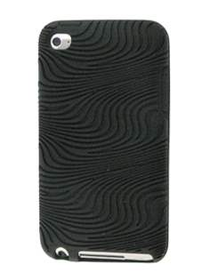 Silicone Case for iPod Touch 4 - Black Soft Cover