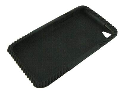 Silicone Case for iPod Touch 4 - Black