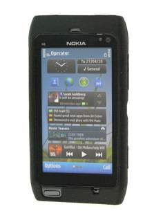 Dual-Design Case for Nokia N8 - Black
