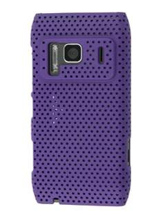 Nokia N8 Mesh Back in-Case - Purple Hard Case