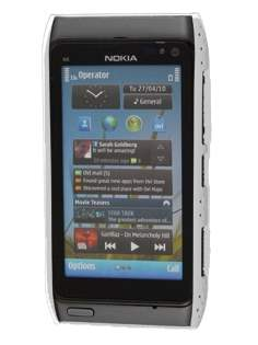 Nokia N8 Mesh Back in-Case - White