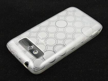 Gel Case for HTC 7 Trophy - Frosted Clear