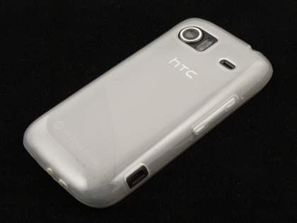 HTC 7 Mozart TPU Case - Frosted Clear