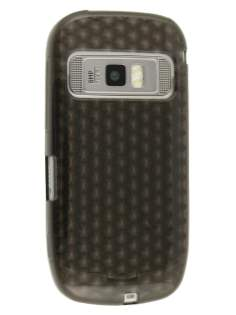 Diamond Gel Case for Nokia C7 - Grey Soft Cover