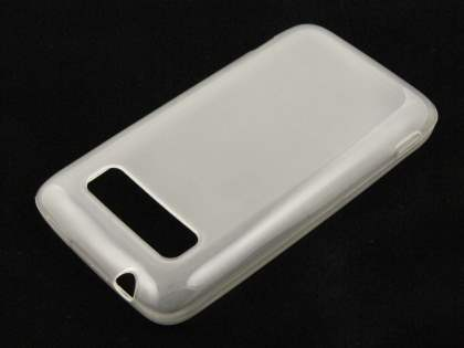 HTC 7 Trophy Gel Case - Frosted Clear