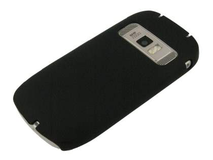 Nokia C7 UltraTough Rubberised Slim Case - Black