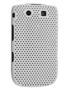 Mesh Back in-Case for BlackBerry Torch 9810/9800 - White Hard Case