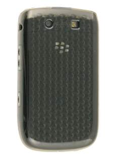 Diamond TPU Gel Case for BlackBerry Torch 9810/9800 - Grey Soft Cover