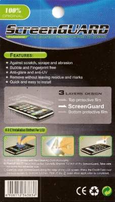Samsung S8500 Wave Ultraclear Screen Protector