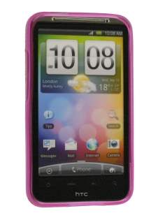 TPU Gel Case for HTC Desire HD - Pink