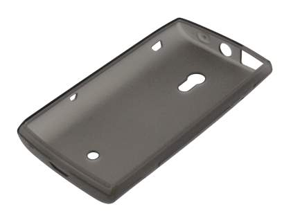 Sony Ericsson Xperia x10 TPU Gel Case - Frosted Grey