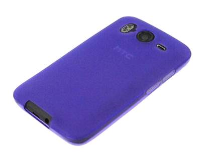 HTC Desire HD TPU Gel Case - Purple